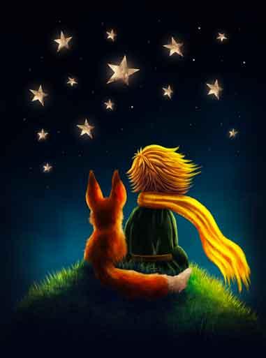 petit prince nuit étoilée